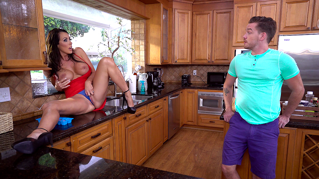 Stepson Licks Pussy Of His Crazy Busty Stepmom On The