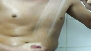 Self Shot Hotel Shower Video