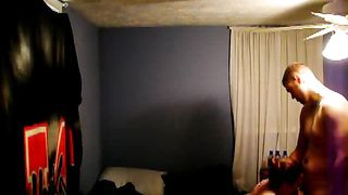 Hidden camera setup in bedroom to record us having sex jointly