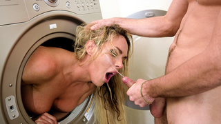 It's nice when mom gives son incest blowjob and gets XXX sperm on face