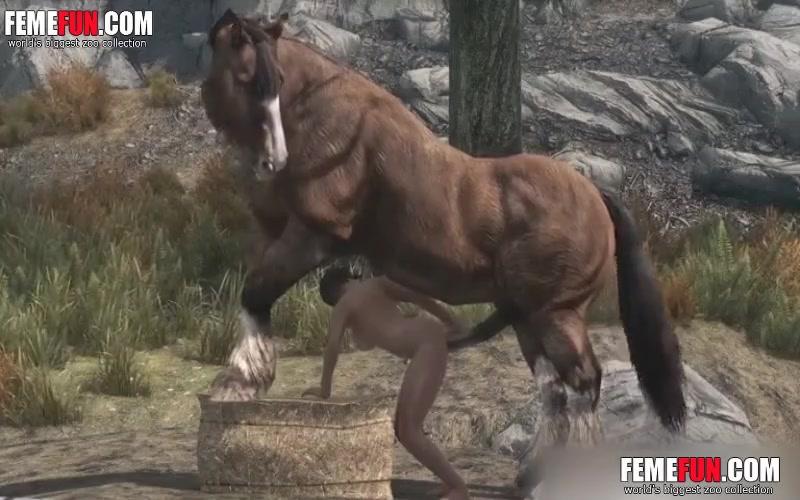 Porn animated horse N1 TOON