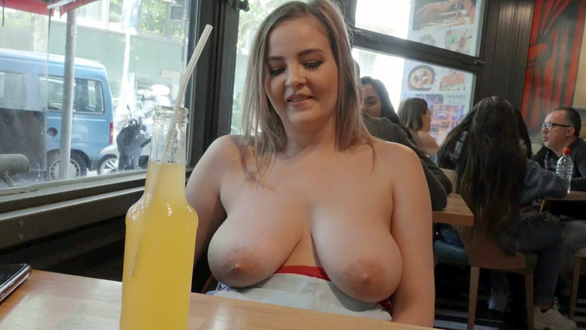 Chubby White Big Natural Tits