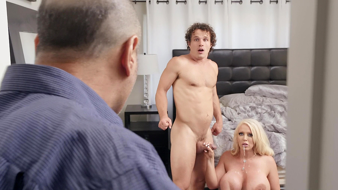 Milf guy caught