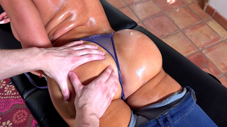 Mom is proud of incest guy who is good masseur and XXX partner