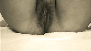 My sexually excited girlfriend just can't live without playing with her sweet wet crack
