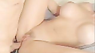 Gawd I love to cum in her wazoo