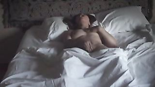 Wife caught rubbing wet cunt spycam watching porn