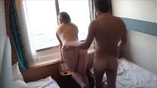 Boat fuck. My big cock for pleasure my slutty wife