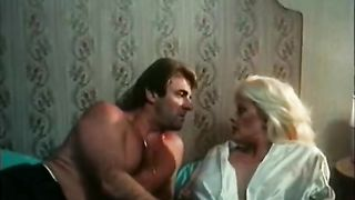 Old busty blonde head dirt receives hard missionary pose drilled