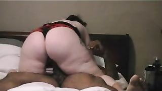 White big beautiful woman non-professional cheating wife craves to try some large dark cock